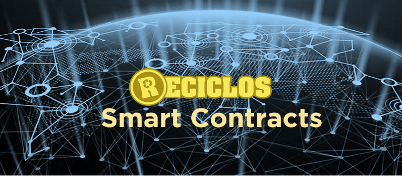 reciclos smart contracts blockchain