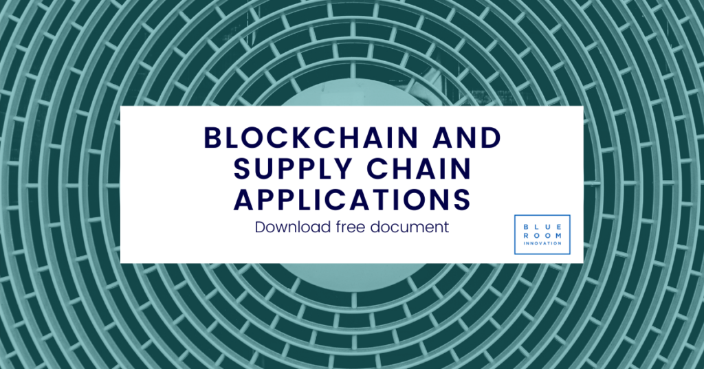 Blockchain and supply chain applications