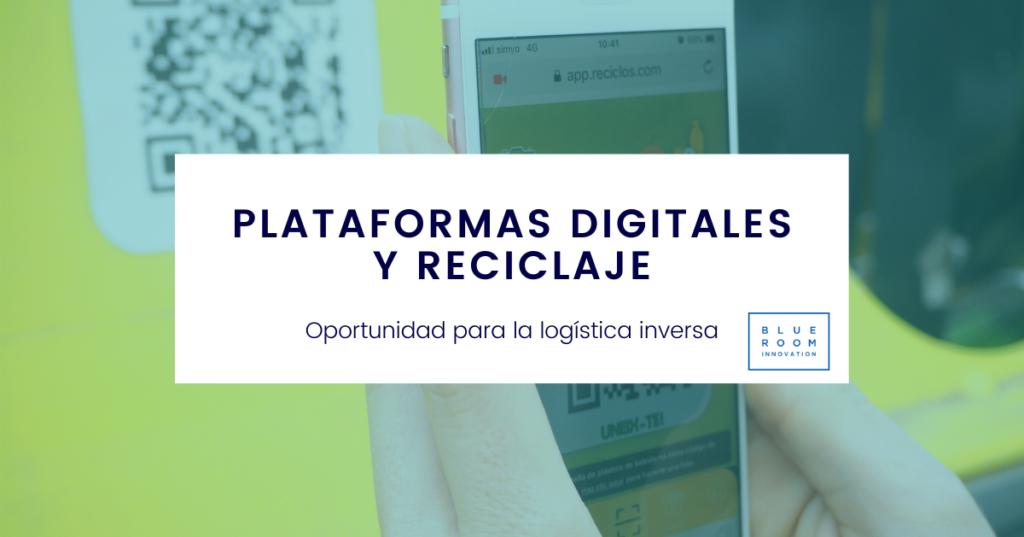 plataformas digitales y reciclaje