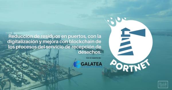 Blue Room Innovation ha obtenido el soporte de GALATEA para desarrollar PORT-NET, una solución para la gestión de los residuos en los puertos con tecnología blockchain.