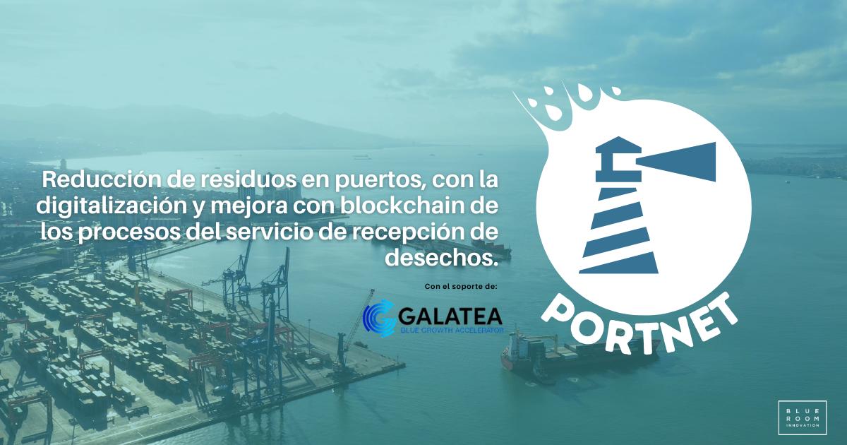 Port-Net residuos puerto blockchain