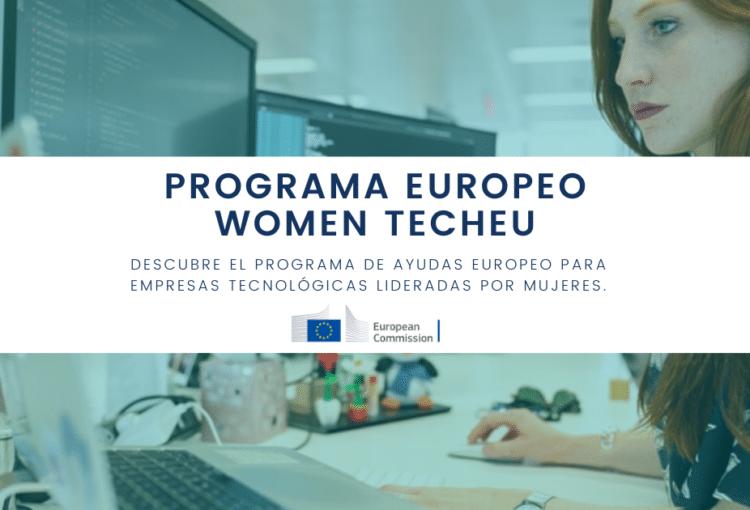 Women tech europa programa europeo