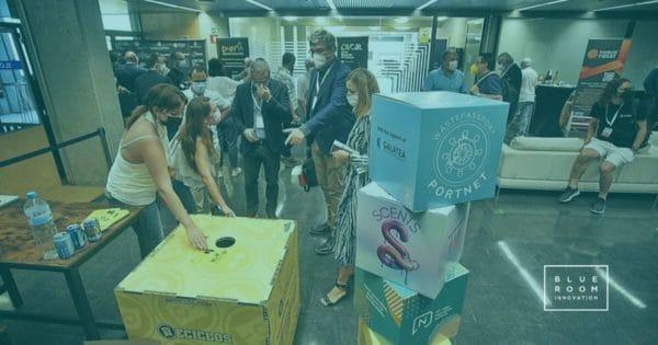 Blue Room Innovation en la feria de Blockchain de Catalunya