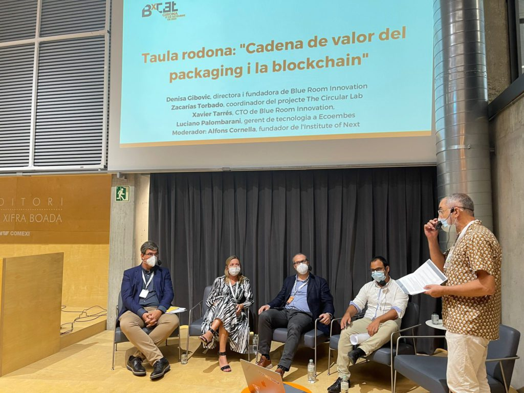 blockchain girona blue room ecoembes