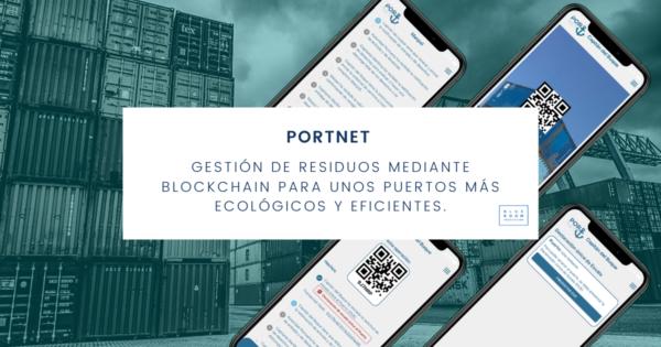 PortNet: trazabilidad y gestión de los residuos en puertos con blockchain
